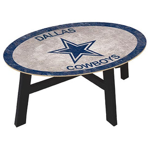 Dallas Cowboys Coffee table with team color