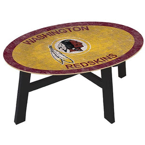 Washington Redskins Coffee table with team color