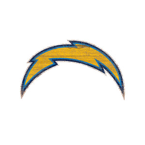 Los Angeles Chargers Distressed Logo Cutout Sign