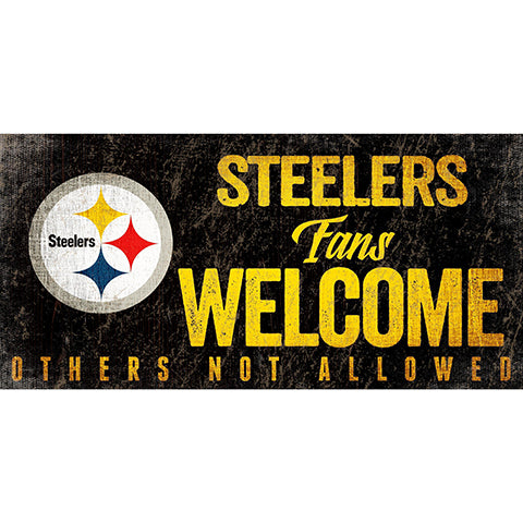 Pittsburgh Steelers Fans Welcome Sign