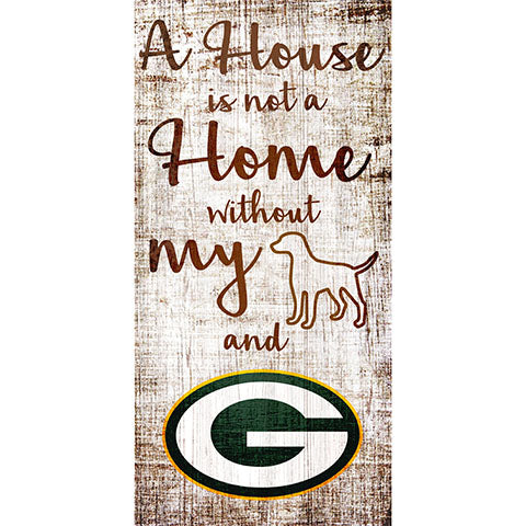 Green Bay Packers A House is not a Home Sign
