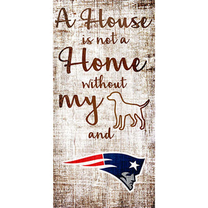 New England Patriots A House is not a Home Sign