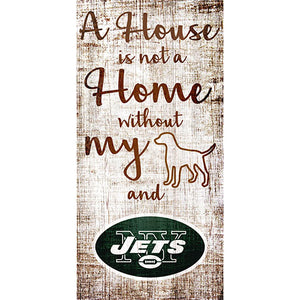 New York Jets A House is not a Home Sign