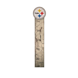 Pittsburgh Steelers Growth Chart Sign 6x36