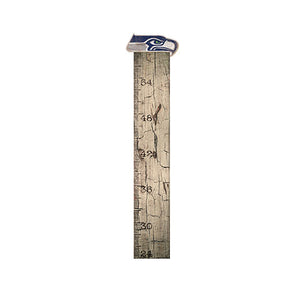 Seattle Seahawks Growth Chart Sign 6x36