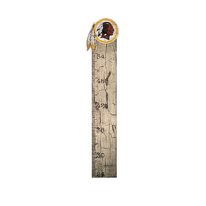 Washington Redskins Growth Chart Sign 6x36