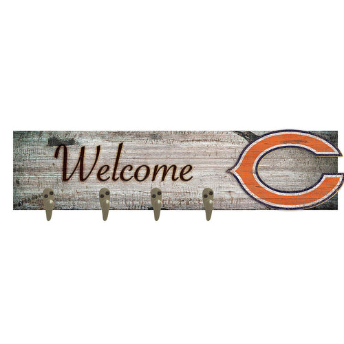 Chicago Bears Coat Hanger 6x24