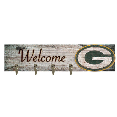 Green Bay Packers Coat Hanger 6x24