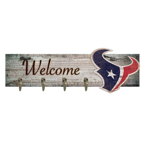 Houston Texans Coat Hanger 6x24