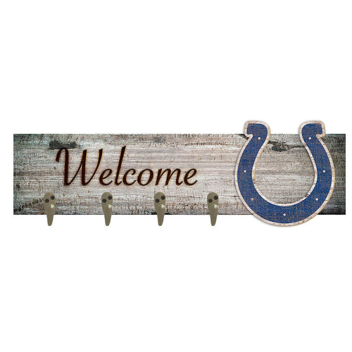 Indianapolis Colts Coat Hanger 6x24