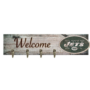 New York Jets Coat Hanger 6x24