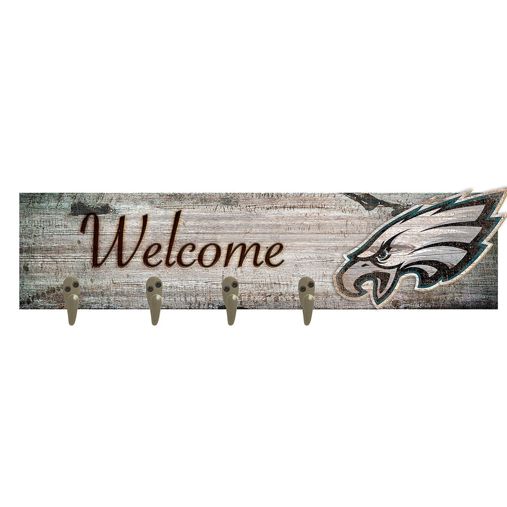 Philadelphia Eagles Coat Hanger 6x24