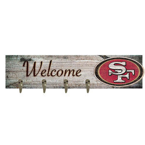 San Francisco 49ers Coat Hanger 6x24