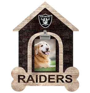Oakland Raiders Dog Bone House Clip Frame