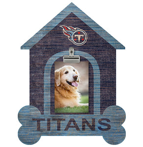 Tennessee Titans Dog Bone House Clip Frame