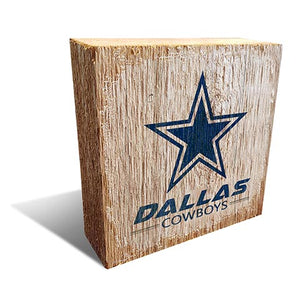 Dallas Cowboys Team Logo Block 6X6