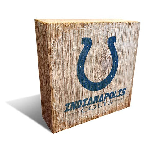 Indianapolis Colts Team Logo Block 6X6
