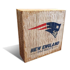 New England Patriots Team Logo Block 6X6