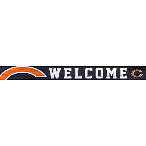 Chicago Bears 16in. Welcome Strip
