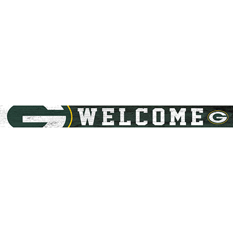 Green Bay Packers 16in. Welcome Strip