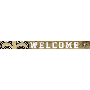 New Orleans Saints 16in. Welcome Strip