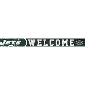 New York Jets 16in. Welcome Strip