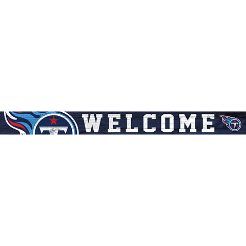 Tennessee Titans 16in. Welcome Strip