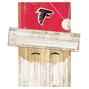 Atlanta Falcons Santa Head