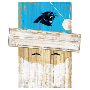Carolina Panthers Santa Head