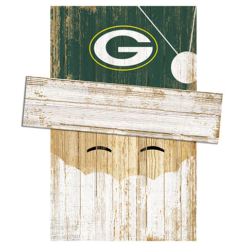 Green Bay Packers Santa Head