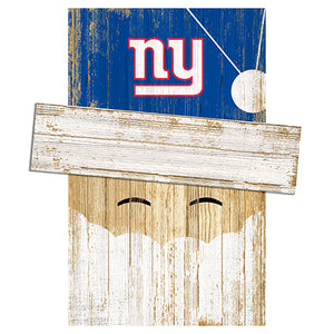 New York Giants Santa Head