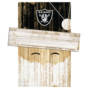 Las Vegas Raiders Santa Head
