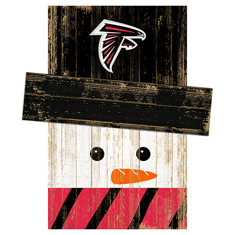 Atlanta Falcons Snowman Head