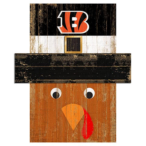 Cincinnati Bengals Turkey Head