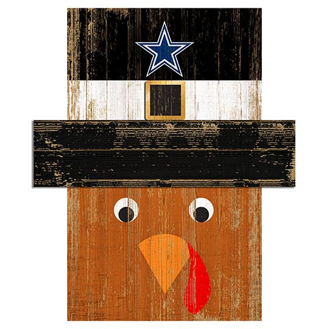 Dallas Cowboys Turkey Head