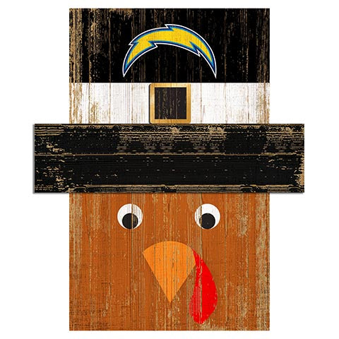 Los Angeles Chargers Turkey Head