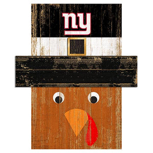 New York Giants Turkey Head