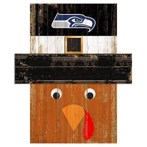 Seattle Seahawks Turkey Head