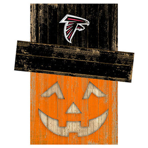 Atlanta Falcons Pumpkin Head w/Hat
