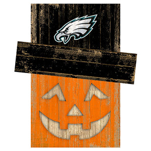 Philadelphia Eagles Pumpkin Head w/Hat