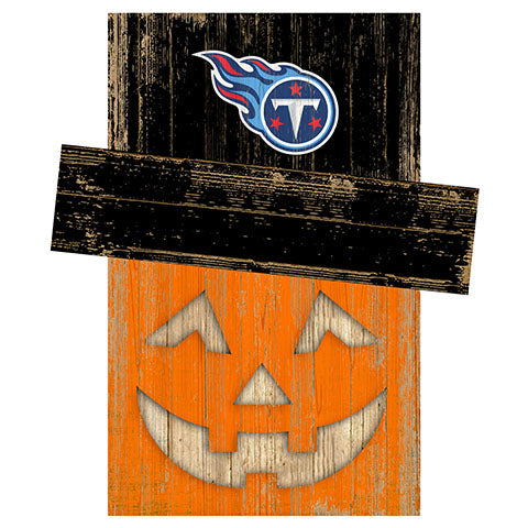 Tennessee Titans Pumpkin Head w/Hat