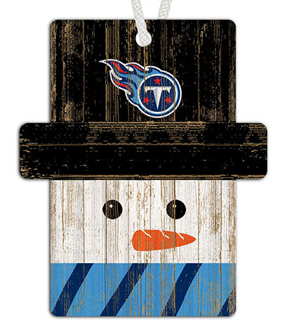Tennessee Titans Snowman Ornament