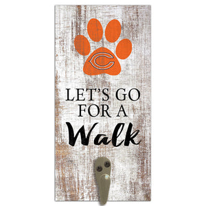 Chicago Bears Leash Holder 6x12 Sign