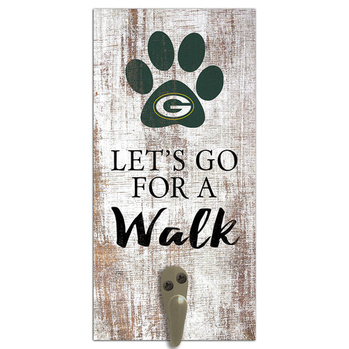 Green Bay Packers Leash Holder 6x12 Sign