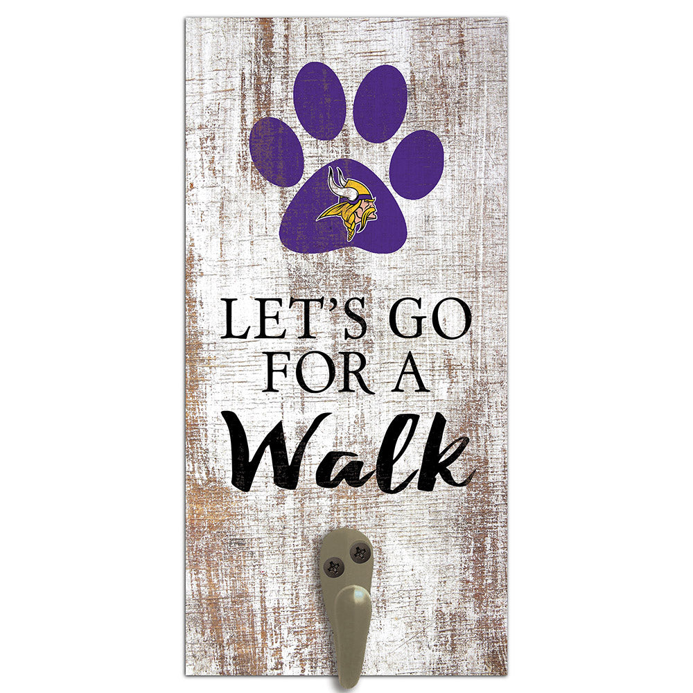Minnesota Vikings Leash Holder 6x12 Sign