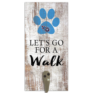 Tennessee Titans Leash Holder 6x12 Sign