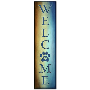 "Pet Welcome 48"" Welcome Sign"