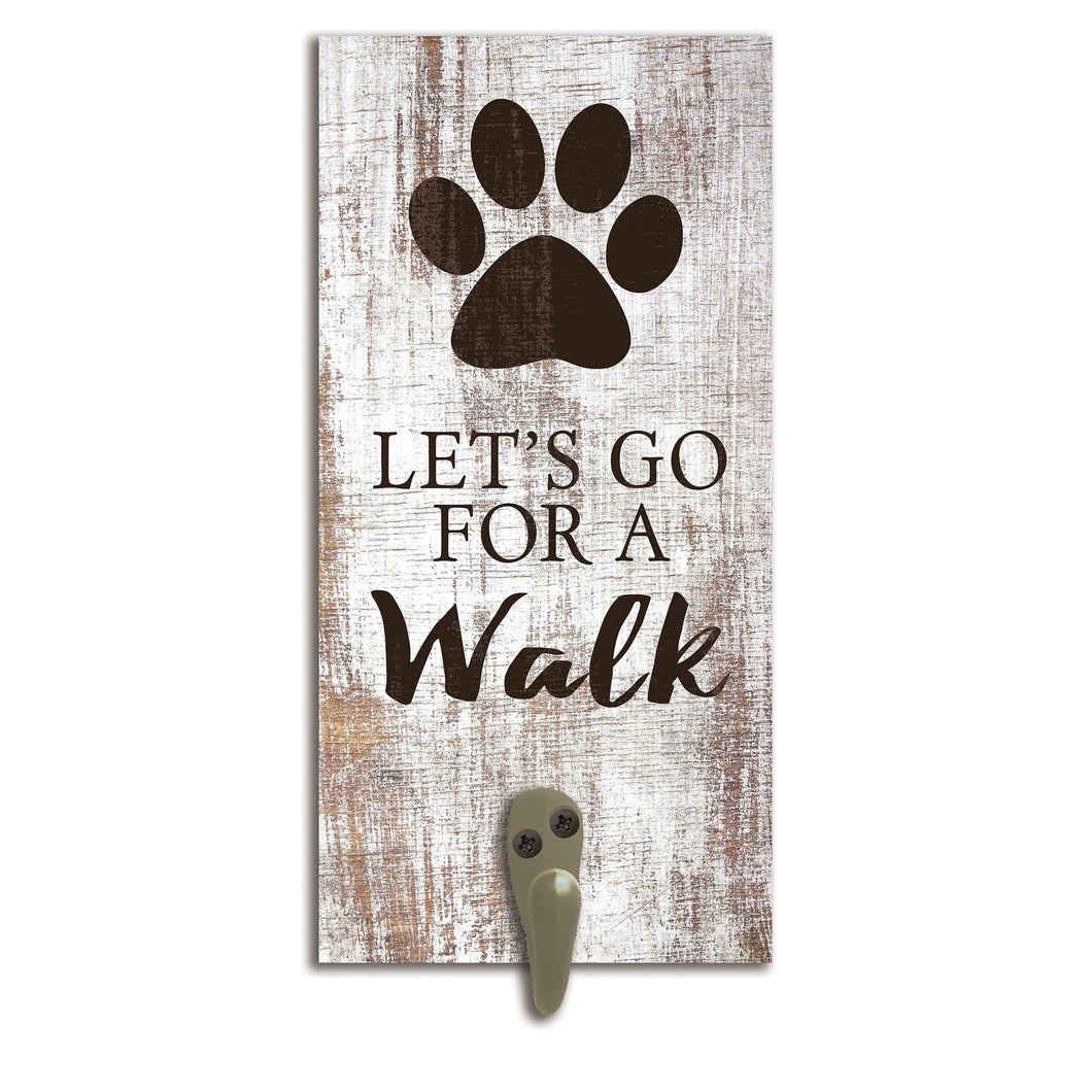 Let's go for a Walk Leash Holder 6x12