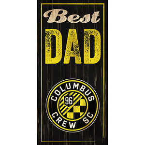 Columbus Crew Best Dad 6x12