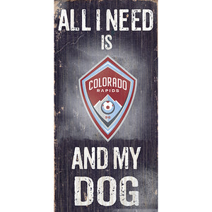 Colorado Rapids Soccer and My Dog Sign